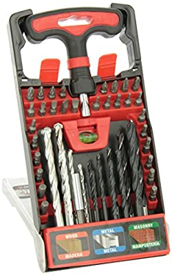 Performance Tool W125 T-Handle Drill and Bit Set
