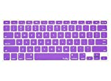 Kuzy - PURPLE Keyboard Cover Silicone Skin for MacBook Pro 13