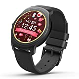 Ticwatch 2 Active 42mm Ultra Light - Silky Smooth Smartwatch - Charcoal- Mobvoi Voice Contral Ticwear OS Compatible with Android and iOS - Your Smart Fitness Companion