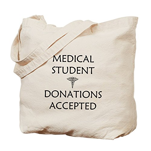 CafePress Unique Design Med Student - Donations Accepted Tote Bag - by CafePress