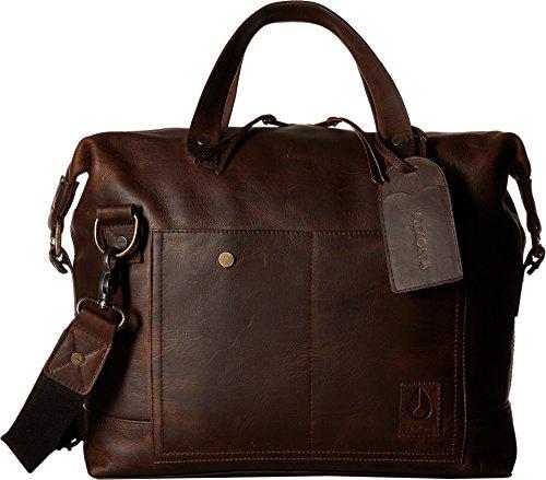 - Nixon Unisex Calle II Messenger Bag Brown/Black One Size