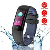 New Fitness Tracker, G16 Bluetooth Smart Bracelet with Sport Mode, Health Tracker Activity
