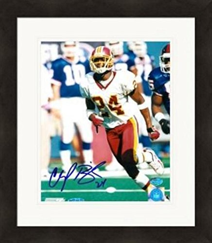 (Autographed Bailey Photo - 8x10 UDA Matted & Framed - Autographed NFL Photos)