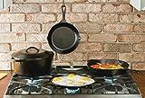 Lodge Seasoned Cast Iron Cookware Set