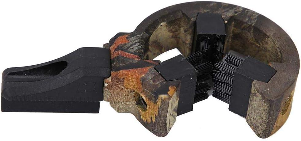 Arco Compuesto Tiro con Arco Captura Accesorio de Reposo de Flecha para Caza al Aire Libre para Mano Derecha e Izquierda DEWIN Cepillo Descanso de Flecha