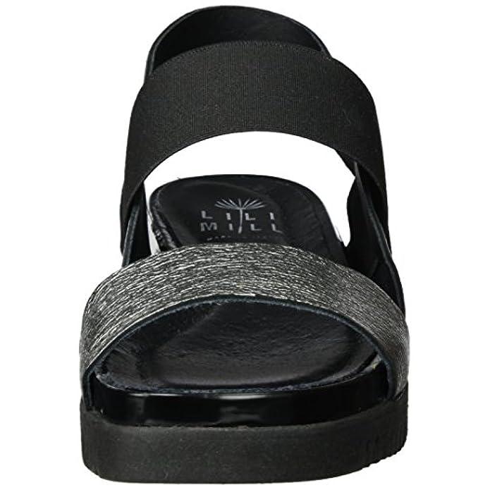Lili Mill Yoga Scarpe Col Tacco Con Cinturino A T Donna