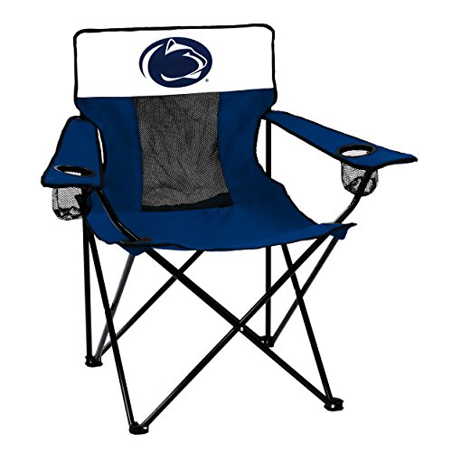 Logo Brands 196-12E Collegiate Penn State Nittany Lions Elite Chair, Blue ()