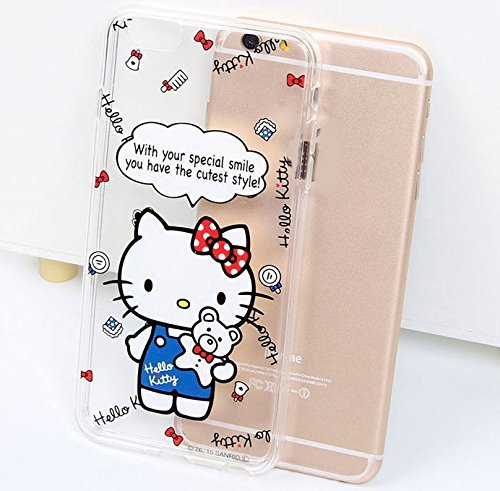 Hello Kitty iPhone 6 (4.7 Zoll) funda Cover Carcasa y fundas Carcasas y fundas (Model 4) Model 10