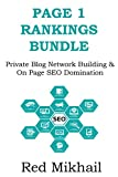 PAGE ONE RANKINGS (Updated for 2016): Private Blog Network Building & On Page SEO Domination