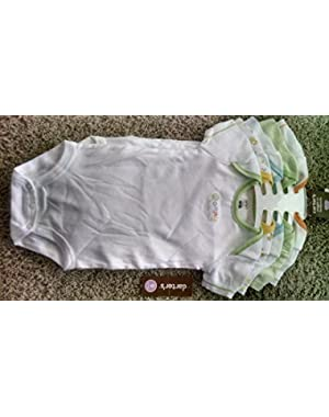 5 Pack Wiggle-in Bodysuits Short Sleeve - 9 Months!