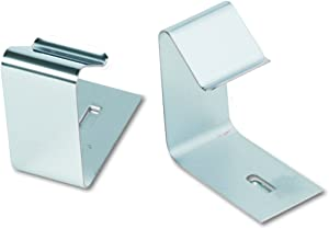Quartet 7501 Flexible Metal Hangers for Panels 1-1/2-2-1/2 Thick, 2 Hangers/Set