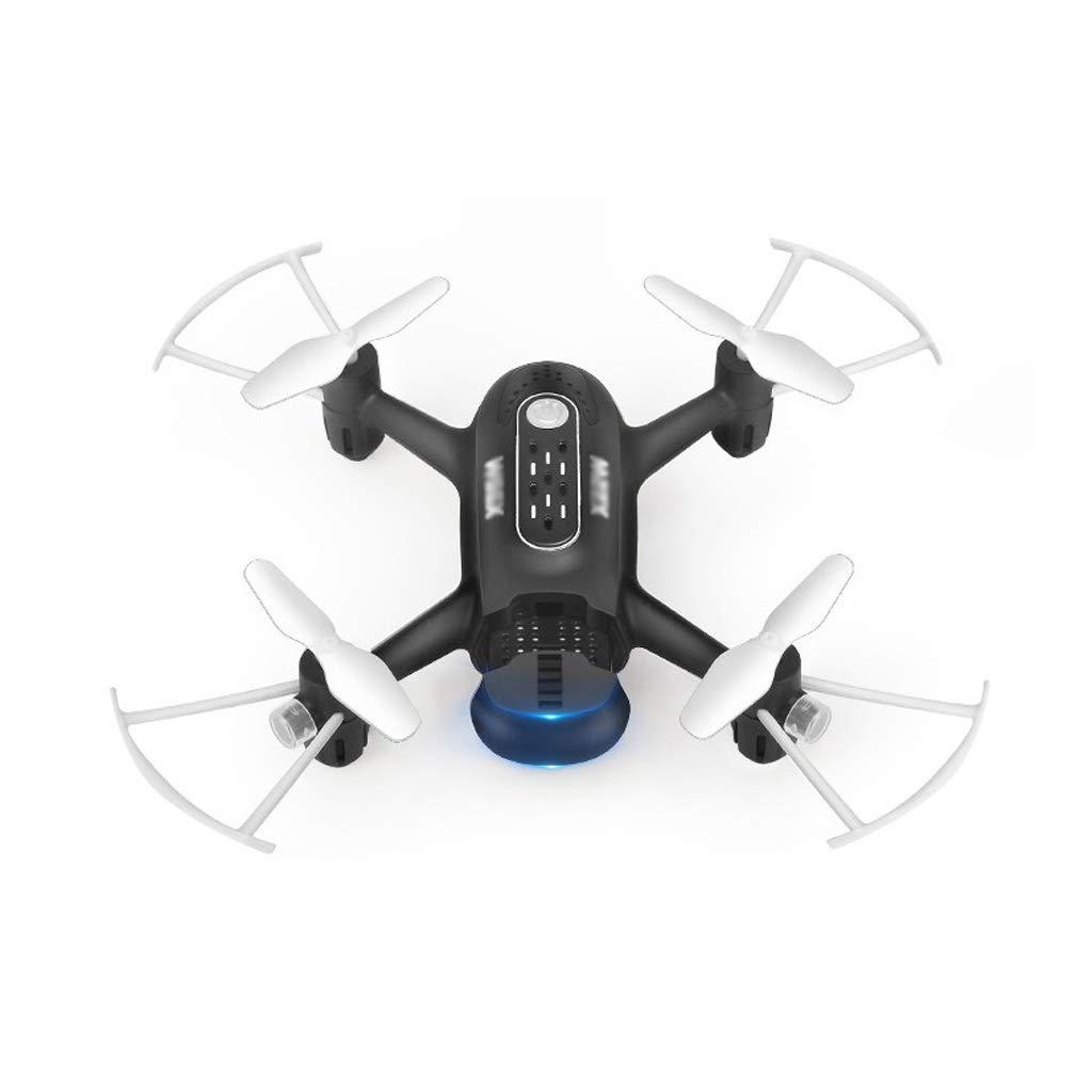 WeißAN-Drone Mini-Drohnenfernsteuerungsflugzeug Professionelle vierachsige Flugzeuge für Erwachsene mit festem Schwebeflug Gleisflug   One-Button-Landung schwarz Dual battery version (lasting about 20 minutes)
