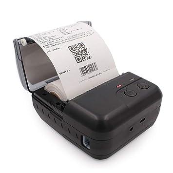ZUKN Impresora Térmica Bluetooth Portátil Compatible con Conexión ...