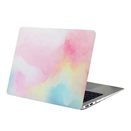 buy online 42110 53ec6 MacBook Air 11 Inch Case,YMIX Ultra Slim Plastic Case Smooth Hard  Protective Cover for Laptop MacBook Air 11.6 Inch (Models: A1370 A1465)  (Rainbow ...