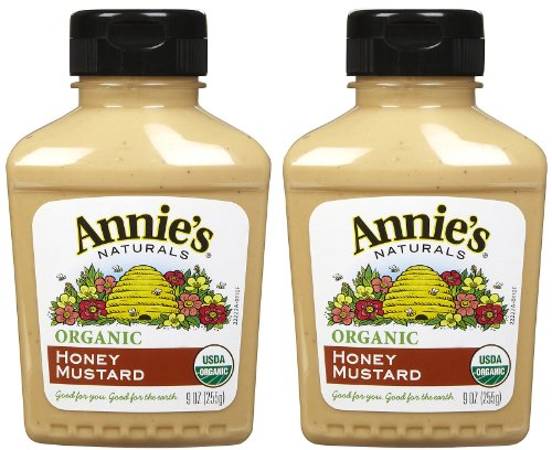 Annie's Homegrown Organic Honey Mustard, 9 oz, 2 pk (Fat Free Honey Mustard)