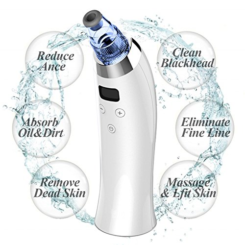 Cheap Angelland Electronic Blackhead Remover Vacuum 4 Multi-Functional Probes USB Rechargeable Microdermabrasion Machines Facial Treatment Acne Pore Cleaner Comedone Suction Extractor