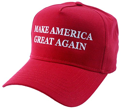 MAKE AMERICA GREAT AGAIN - Vote TRUMP 2016 - EMBROIDERED OR PRINTED CAP hat by The Goozler
