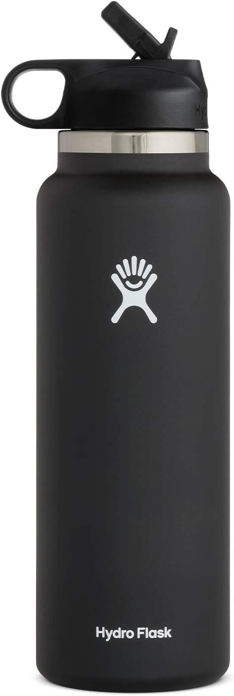 Hydro Flask Wide Mouth 2.0 Water Bottle, Straw Lid - Multiple Sizes & Colors