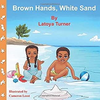 Brown Hands, White Sand