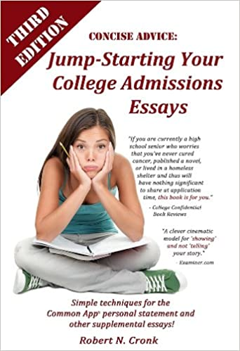 Best college admission essays book