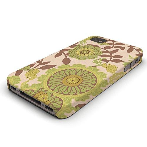 Koveru Back Cover Case for Apple iPhone 4/4S - Flower Art