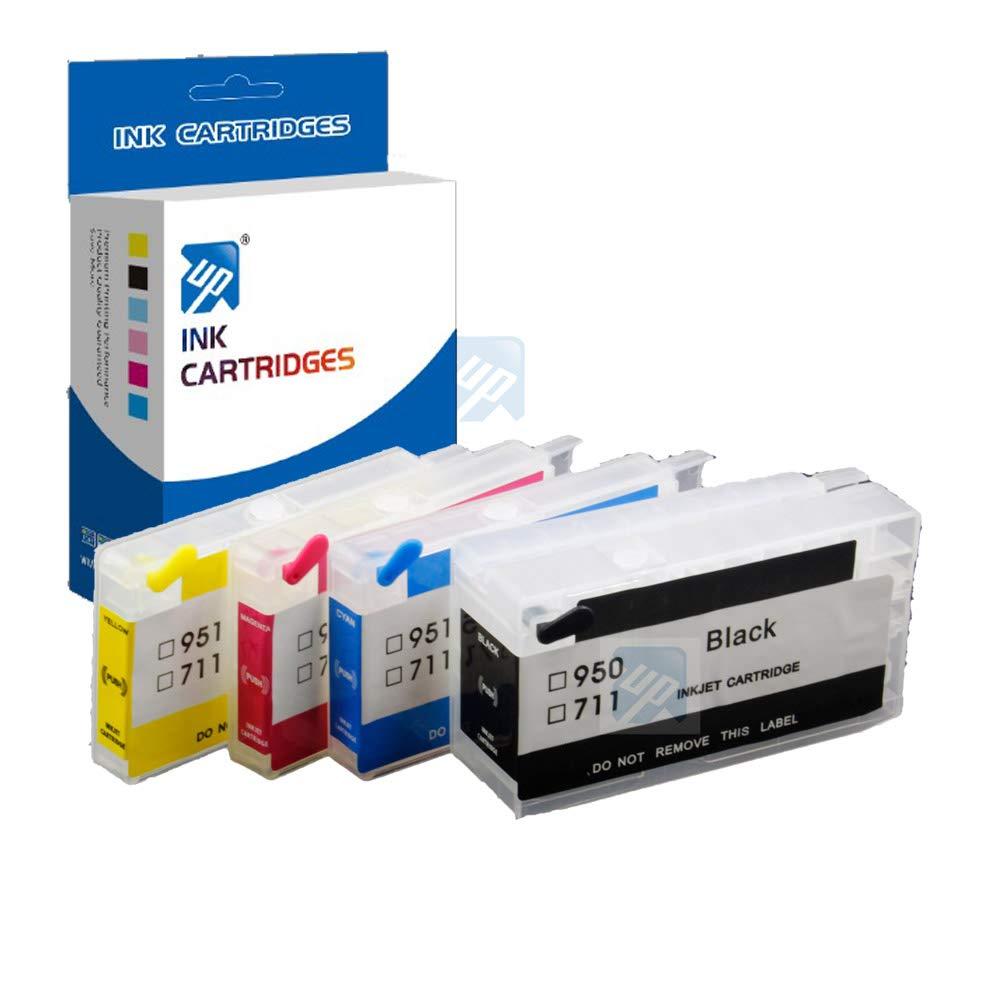 Amazon.com: UniPrint - Cartucho de tinta recargable para HP ...
