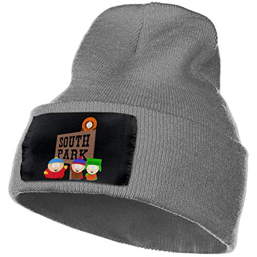 (SmallHan Mens & Womens South Park Season Skull Beanie Hats Winter Knitted Caps Soft Warm Ski Hat Deep)