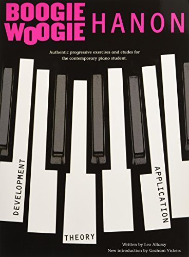 Boogie Music Book (Boogie-Woogie Hanon: Progressive Exercises: Revised Edition)