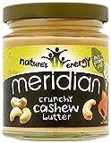 Meridian 100% Crunchy Cashew Butter 170g