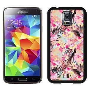 Unique Samsung Galaxy S5 Case Design with Victoria's Secret Love Pink 74 Black Samsung Galaxy S5 Phone Case