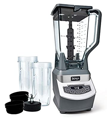 Ninja Professional 1000 Watt Blender w/Nurti Cups, BL661 (Certified Refurbished)