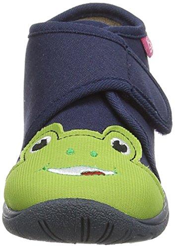 Beck Frog - pantuflas con forro de material sintético niños azul - Blau (dunkelblau / 05)