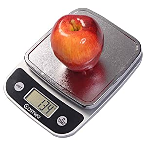 Safstar digital kitchen scale precise cooking for Best kitchen scale for baking