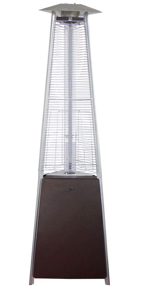 Commercial LP Gas Porch /& Deck Heater Thermo Tiki Outdoor Propane Patio Heater Black