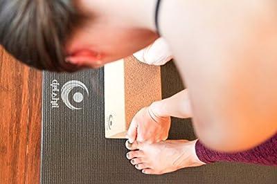 Drishti Natural Cork Yoga Block