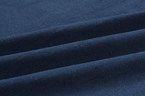 Robes D'été Clothink Travestissement Cravate Bouton Avant Sangle Spaghetti Vers Le Bas Une Ligne Bleu Marine Robe Midi Plissée