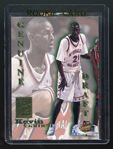 Garnett Kevin Draft - 1995 Signature Rookies Genuine Draft #NNO Mail In Kevin Garnett Rookie Card - Mint Condition Ships in a Brand New Holder