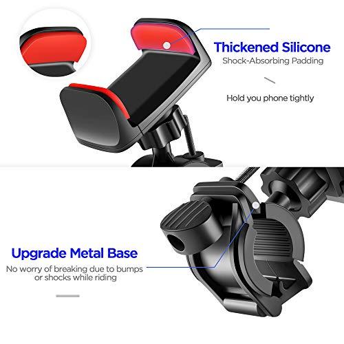 Buy metal motorcycle cell phone holder
