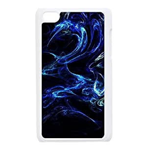 Durable Material Phone Case With Abstract Image On The Back For iPod Touch 4