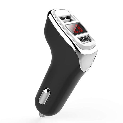 exing Cargador Coche Universal 12 V 24 V Voltaje LED Digital ...