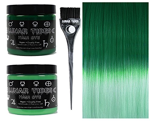 Lunar Tides Hair Dye - Green DIY Ombre Hair Dye Kit