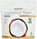 Nutiva Organic Coconut Flour, 16 oz (Pack of 5)