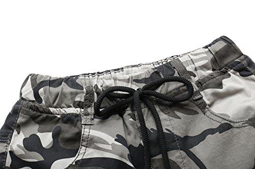 LOKTARC Boys Pull On Jogger Pants Camo Print Cuff Jogging Bottoms Grey(Regular Fit) 13-14T by LOKTARC (Image #3)
