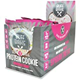 Protein Cookies - 16 Grams of Whey Protein Snacks, Gluten Free, Non-GMO and Great Source of Fiber (Chocolate Donut, 12 Count, 2.82 oz)