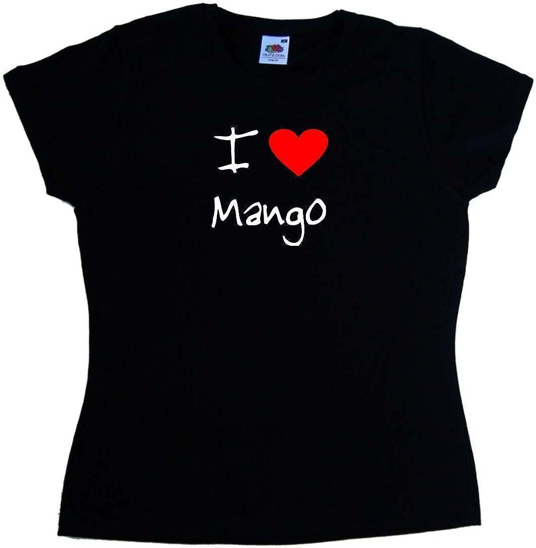 I Love Heart Mango Kids T-Shirt