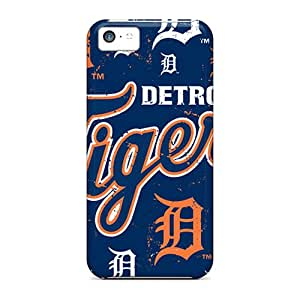 Slim Fit Protector Shock Absorbent Bumper Detroit Tigers Cases For Iphone 5c