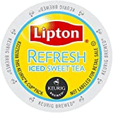 Lipton Refresh Iced Sweet Tea K-Cup Portion Pack for Keurig Brewers, 88 Count