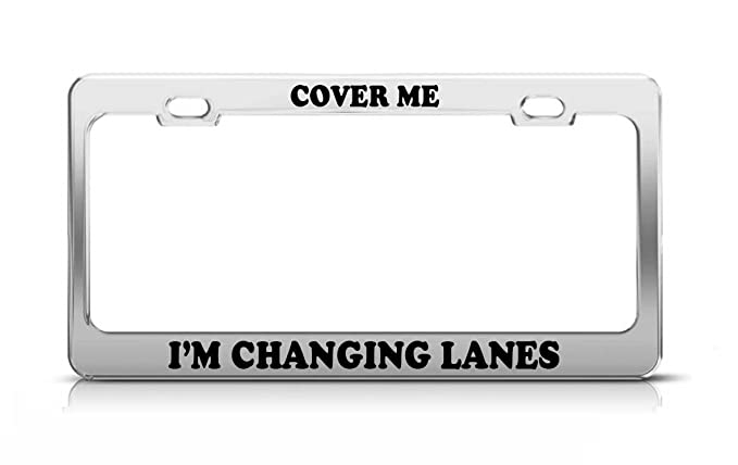 Amazon.com: Dimanzo Cover ME I\'m Changing Lanes Fun Gift Love ...