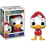Huey: Funko POP! Disney x DuckTales Vinyl Figure + 1 Classic Disney Trading Card Bundle (20059)