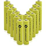 AA Rechargeable NiCd Batteries, NICD AA 600mAh 1.2V Rechargeable Batteries for Solar Light,Solar Lamp,Garden Lights(Pack of 20)
